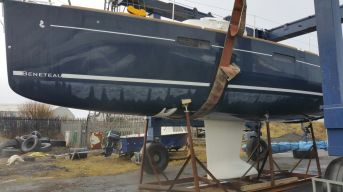 New boat before coppercoating